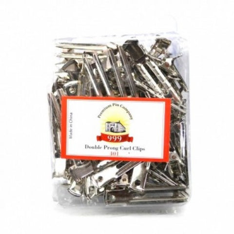 999 Double Prong Curl Clips