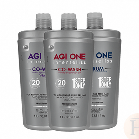 Agi One Intense Liss Co Wash VIOLET 20minutes 1litre