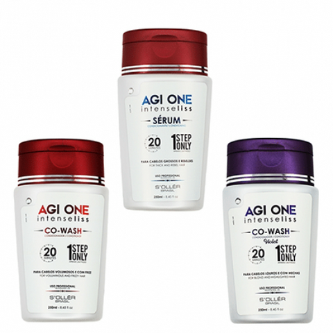 Agi One Intense Liss Co Wash VOLUME 30minutes 250ml
