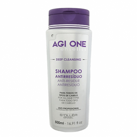 Agi One Intense Liss Deep Cleansing Shampoo 500ml