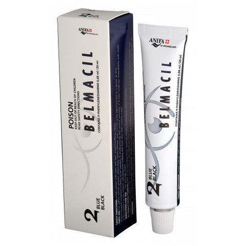 Belmacil Eyelash Tint No.2 Blue Black 20 ml