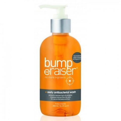 Bump Eraiser Zesty Antibacterial Wash 250 ml