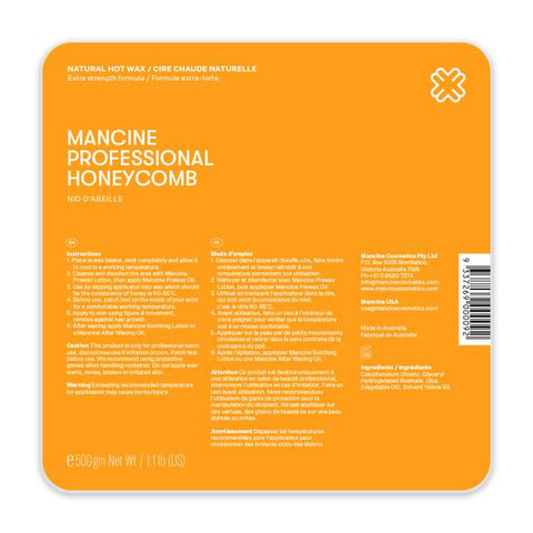 Mancine Honeycomb Hot Wax 500gm