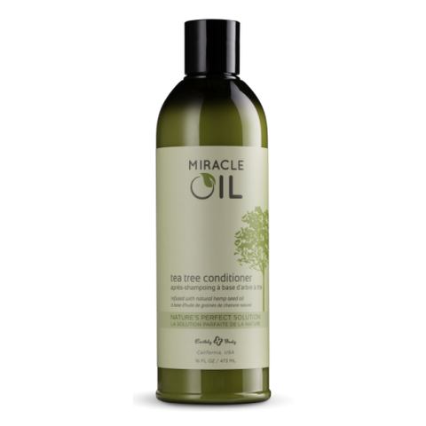 Miracle Oil ORGANIC Tea Tree Conditioner 473ml