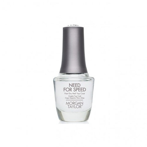 Morgan Taylor Need For Speed Fast Dry Top Coat 15 ml