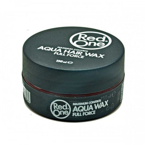 Red One Aqua Hair Wax Full Force BLACK 150ml