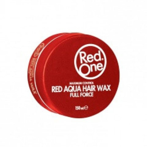 Red One Aqua Hair Wax Full Force RED 150ml