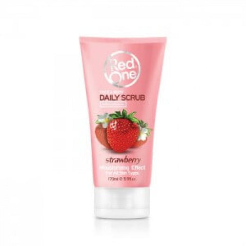 Red One Daily Scrub Strawberry 170ml