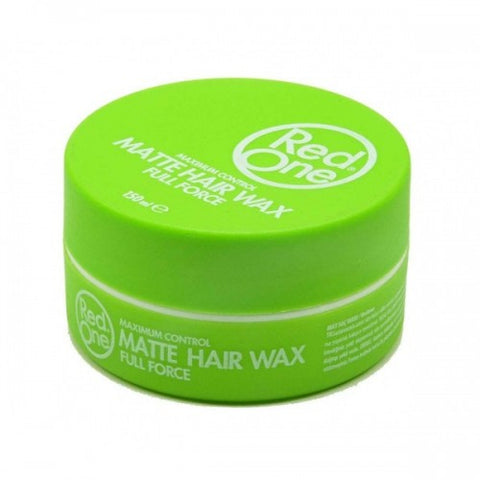 Red One Matt Hair Wax Full Force GREEN 150ml