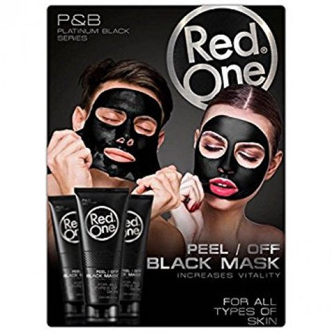 Red One Peel Off Black Mask 125ml