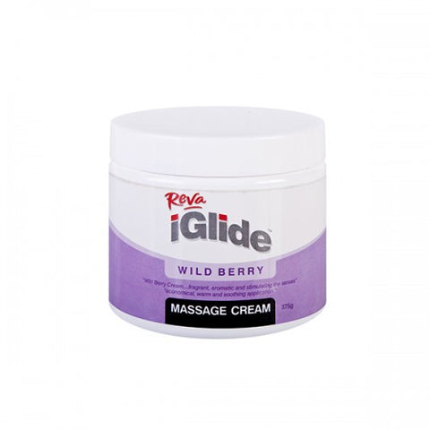 Reva iGlide Wild Berry Massage Cream 375 gm