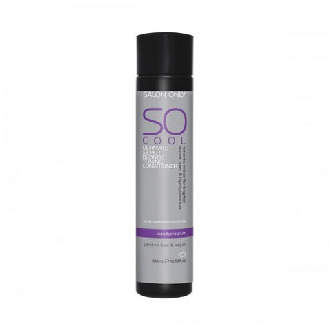 Salon Only So Cool Ultimate Silver Blonde Toning Conditioner 300ml