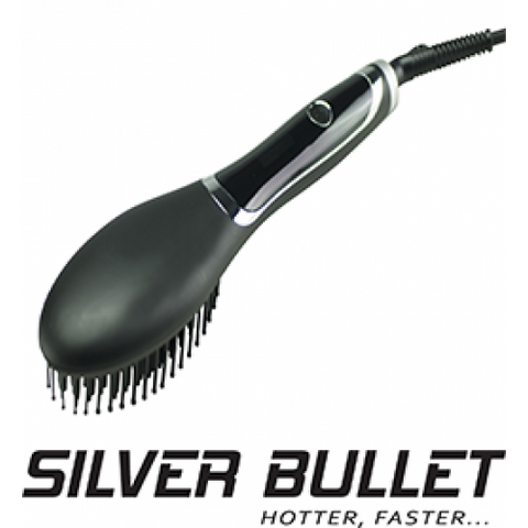 Silver Bullet Hybrid Straightening Brush