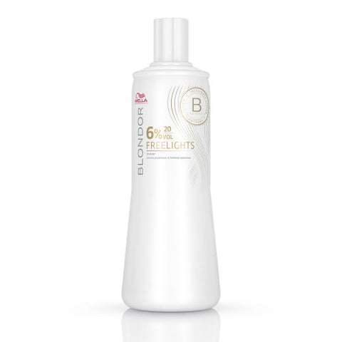 Wella Blondor Freelights Developer 'B' 20vol 6% 1 Litre