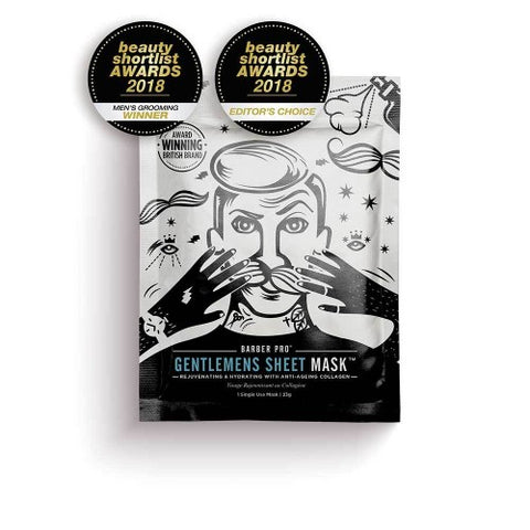 Barber Pro Gentlemen's Sheet Mask 23gm