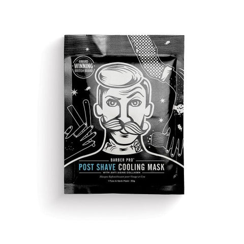 Barber Pro Post Shave Cooling Mask 30gm