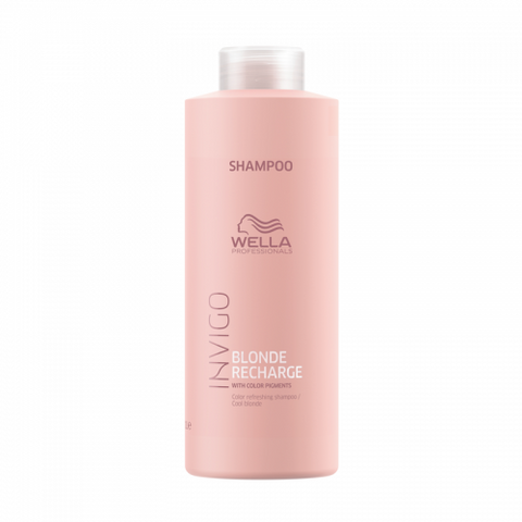 Wella Invigo Blonde Recharge Shampoo 1 Litre