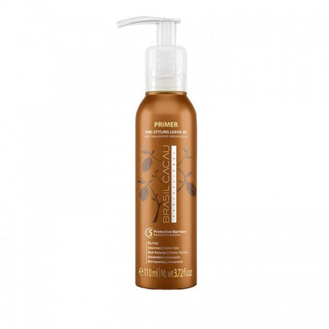 Brasil Cacau Primer Pre-Styling Leave In 110 ml