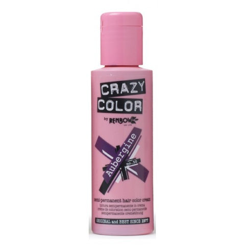Crazy Color Aubergine No.50 100 ml