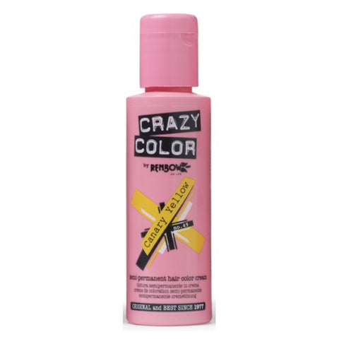 Crazy Color Canary Yellow No.49 100 ml