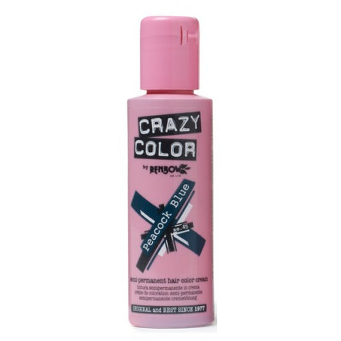 Crazy Color Peacock Blue No.45 100 ml