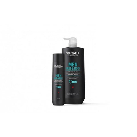 Goldwell MEN Hair and Body Shampoo 1 litre