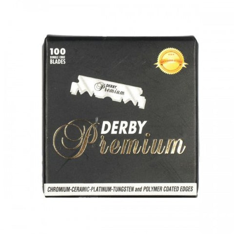 Derby Premium Super Stainless Single Edge Blades 100pack