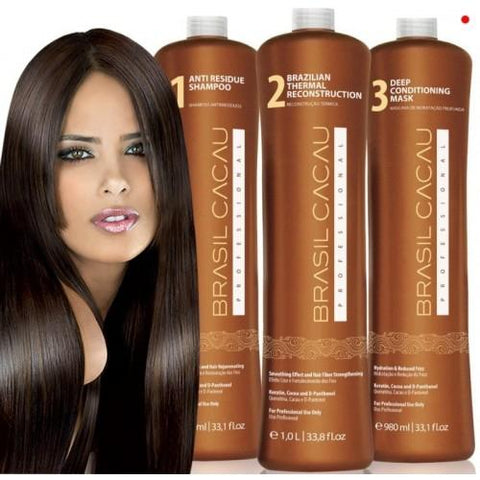 Brasil Cacau Professional Keratin Treatment Kit with Diva 230c