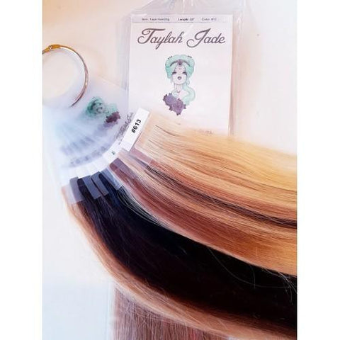 Taylah Jade 20inch Hair Extensions #613 Blonde 40pcs