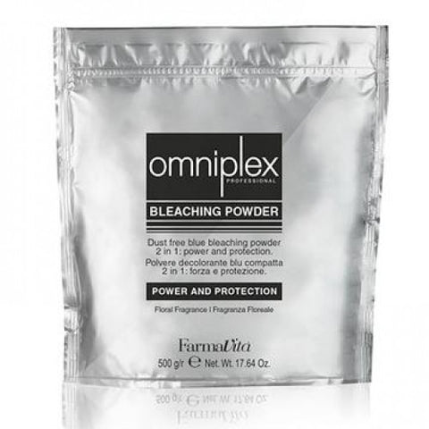 Farmavita Omniplex Dust Free Blue Bleaching Powder 500gm