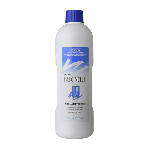 Fascinelle Cream Developer 10 Vol 1 Litre