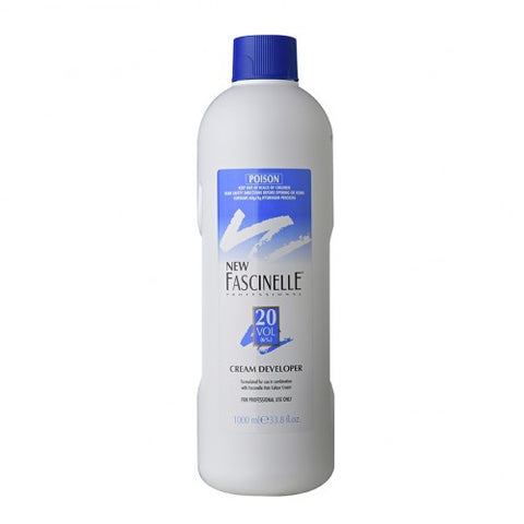 Fascinelle Cream Developer 20 Vol 1 Litre