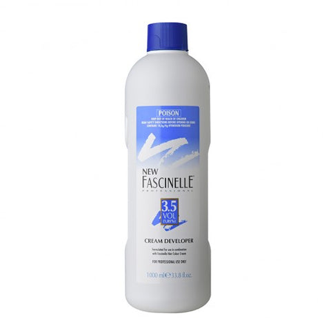 Fascinelle Cream Developer 3.5 Vol 1 Litre