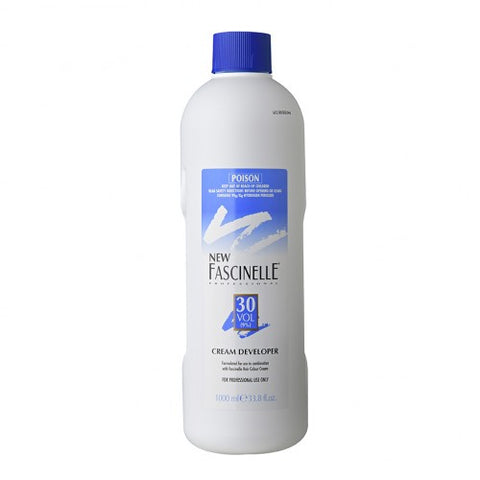 Fascinelle Cream Developer 30 Vol 1 Litre