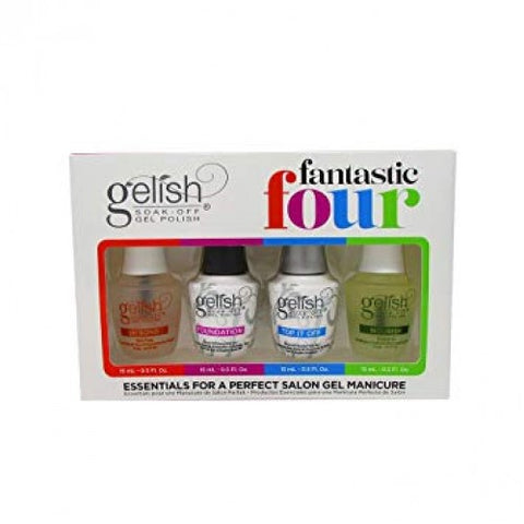 Gelish Fantastic Four 4 x 15ml Kit