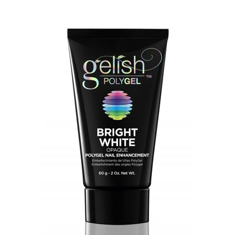 Gelish PolyGEL Bright White Opaque 60gm