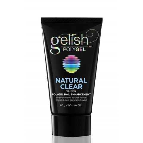 Gelish PolyGEL Natural Clear Sheer 60gm