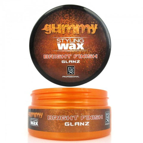 Gummy Styling Wax Bright Finish ORANGE 150ml