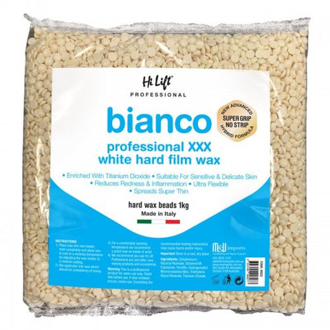 Hi Lift Bianco Hard Film Bead Wax 1kg