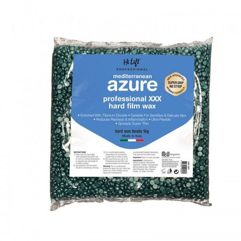 Hi Lift Mediterranean Azure Hard Film Bead Wax 1kg