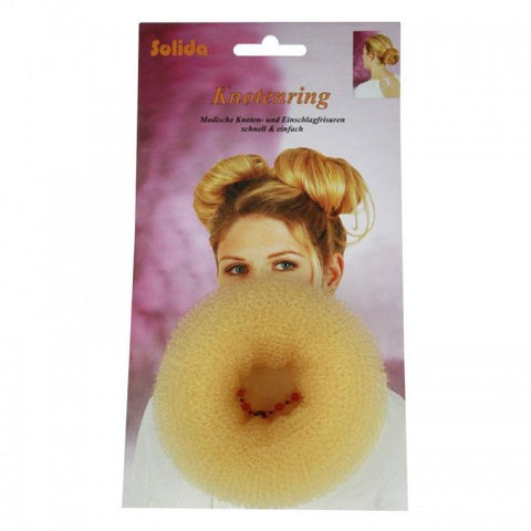 Hi Lift Upstyle Hair Donut Blonde Medium 8cm HD06