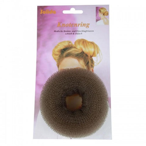 Hi Lift Upstyle Hair Donut Brown Large 10cm HD03