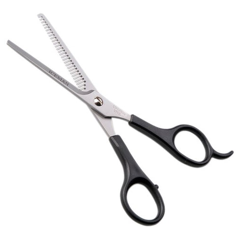 Iceman Salon Pro Black Handle 6 inch Thinner