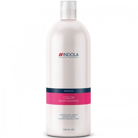 Indola Color Silver Shampoo 1.5 Litre