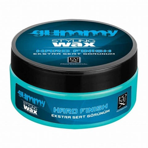 Gummy Styling Wax Hard Finish BLUE 150ml