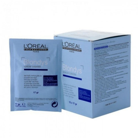 L'Oreal Blondys Powdwer Sachets 12 x 17 gm
