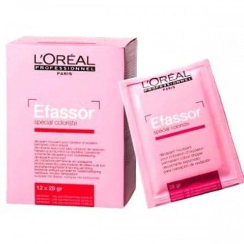 L'Oreal Efassor Permanent Color Stripper 12 x 28 gm