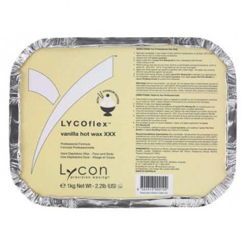 Lycon Lycoflex Vanilla Hot Wax 1 kg