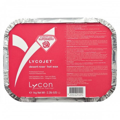 Lycon Lycojet Desert Rose Hot Wax 1 kg