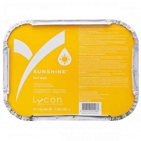 Lycon Sunshine Hot Wax 1 kg